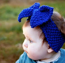 headbands with bows 2 knitted headband with bow patterns the funky stitch