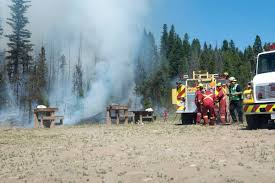 Wildfire Alerts Bc by Update Fire Now Estimated To Be 1 500 Hectares Clearwater Times