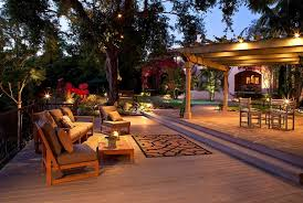 Lighting Ideas For Backyard How To Create An Outdoor Oasis In Your Backyard Freshome Com