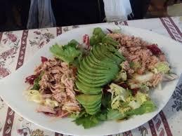 avocat cuisine salade thon avocat picture of le cabassois cabasse tripadvisor