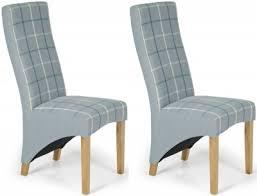 Tartan Armchairs Buy Serene Hammersmith Archer Tartan Fabric Dining Chair With Oak