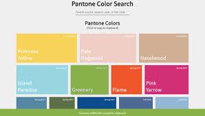 pantone color palette 11 css color palettes