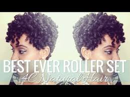 short roller set hair styles best roller set on short 4c natural hair styles