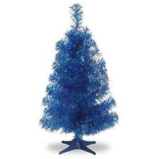 slim tinsel metallic artificial trees