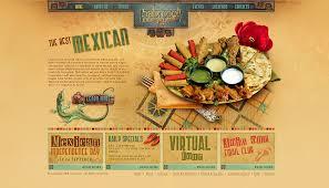outstanding restaurant website design