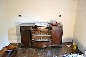 Old Dresser Made Into Bathroom Vanity Vanities Repurpose Dresser Into Bathroom Vanity Antique Dresser