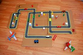 best photos of printable road for cars toy car road map