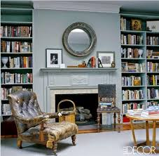 Blue Bookcases The Most Beautiful Home Libraries That Go From Cozy To Extravagant