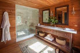 Houzz Rustic Bathrooms - reclaimed wood bathroom vanity