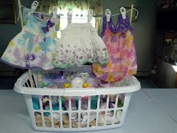 baby shower baskets baby laundry gift basket gift ideas laundry