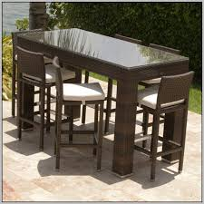 Patio High Table And Chairs Alluring High Top Patio Table And Chairs And Tall Patio Dining Set