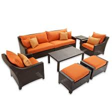 Furniture Vendors In Bangalore Amazon Com Rst Brands Deco 8 Piece Sofa And Club Chair Deep