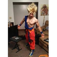 Dragon Ball Halloween Costumes Costume Dbz Supersaiyan Instagram