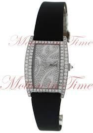 piaget limelight piaget limelight tonneau large diamond diamond white