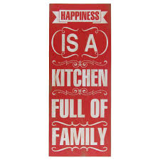 home decor family signs kitchen full of family stencil sign rustic primitive home wall decor