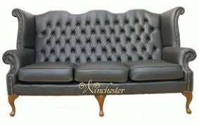 3 seater chesterfield sofa leather 3 seater chesterfield winchester