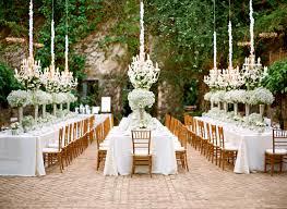 Outdoor Hanging Chandeliers Outdoor Wedding Dinner Hanging Chandeliers