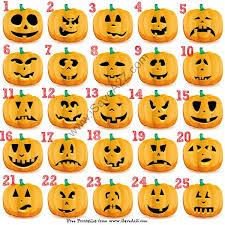 Pumpkin Halloween Templates - 25 easy free halloween pumpkin carving templates pumpkin