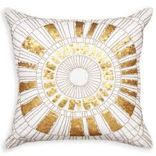 Metallic Cowhide Pillow Cowhide Metallic Throw Home Collection