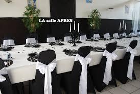 decoration mariage noir et blanc decoration de salle de mariage noir et blanc mariage toulouse