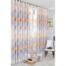 Silver Valance Victorian Luxury Burnt Orange Modern Insulated Door Curtains No