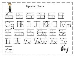 printable alphabet kindergarten free printable alphabet tracing zoopraha info