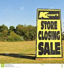 Home Decor More Kmart Store Closing Sign Editorial Stock Image Image 79406004