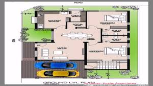 Floor Plans Of Houses In India by Kerala Style 3 Bedroom House Plans Youtube