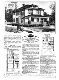 two story craftsman house plans sears homes 1927 1932