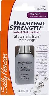 sally hansen diamond strength instant nail hardener 13 ml amazon