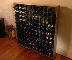 build it yourself wine rack