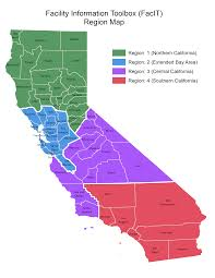 Map Of San Diego Zip Codes by California Region Map California Map