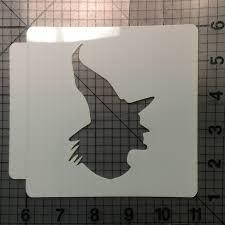 witch stencil 100