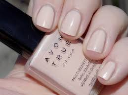 avon true color bb nail enamel perfect pink sunlight swatch tea