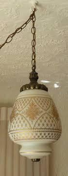 hollywood regency swag l mid century vintage swag ls hanging lights hanging lights