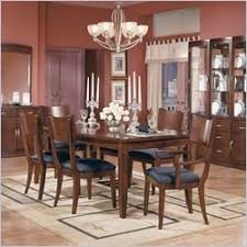 dining table set discount price standard bay heights deep brown