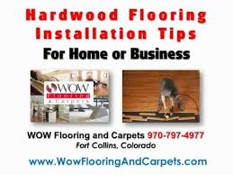 fort collins hardwood flooring installation tips flooring