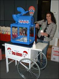 sno cone machine rental snow cones track