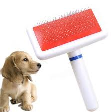 Dog Brush Pet Dog b Long Hair Brush Plastic Handle Puppy Cat Dog