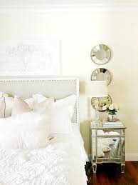 master bedroom styled 3 ways for summer tips for decorating layer different shades of white for even more interest notice the silvery white velvet pillow that seems to pop against the other whites