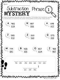 try these mystery phrases for practice of 3 digit addition and