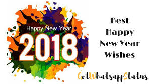 happy new year 2018 wishes getwhatsappstatus