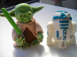 yoda cake topper yoda and r2d2 toppers these are the figurines i made flickr