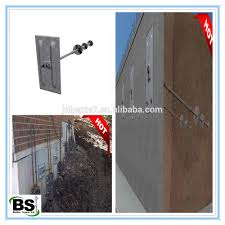 basement wall bracing helical tieback anchor buy tieback anchor