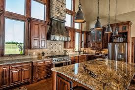Rustic Pendant Lighting Kitchen United States Rustic Pendant Lighting Kitchen With Stacked Stone