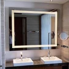 bathroom mirror with lights led mirror bathroom mirror defogger
