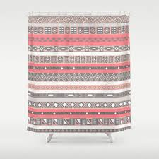 Salmon Colored Shower Curtain Best Peach Shower Curtain Products On Wanelo