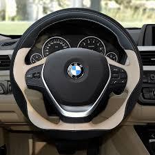 volante bmw x3 cuir v礬ritable couverture de volant de voiture pour bmw x1 x3 x4