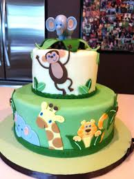Baby Shower Jungle Cakes