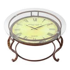 Clock Coffee Table Clock Coffee Table Wayfair Ca
